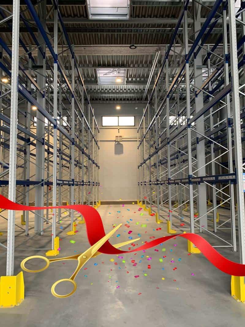 Centrum Logistyczne JMP uważa się za otwarte!